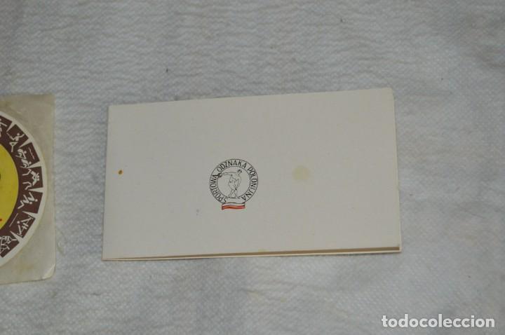 Coleccionismo deportivo: AÑO 1976 - DIVISA DE LOS DEPORTES DE POLONIA CON PINES - OLIMPIADAS DE MONTREAL DE 1976 - ENVÍO24H - Foto 16 - 134754042