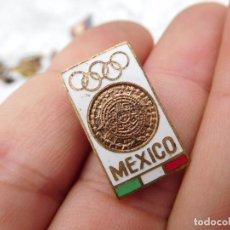 Coleccionismo deportivo: INSIGNIA PIN DE LAS OLIMPIADAS DE MÉXICO 1968. Lote 143401446