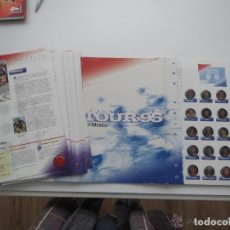 Coleccionismo deportivo: PINS DEL TOUR EDITORIAL EL MUNDO. Lote 144394546