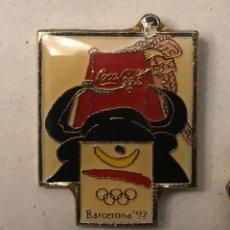 Coleccionismo deportivo: RARO PIN COCA COLA JUEGOS OLIMPICOS BARCELONA 1992. Lote 152222338