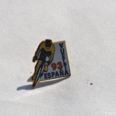 Coleccionismo deportivo: PIN INSIGNIA COLECCIÓN CICLISMO VUELTA ESPAÑA 93. Lote 152228397