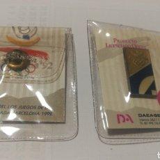 Coleccionismo deportivo: PIN NUEVO EN BLISTER BARCELONA 1992 92 OLIMPIADAS OLIMPICO OLYMPIC GAMES BADGE. Lote 152375180