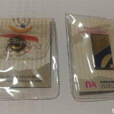 Coleccionismo deportivo: PIN NUEVO EN BLISTER BARCELONA 1992 92 OLIMPIADAS OLIMPICO OLYMPIC GAMES BADGE. Lote 152375182