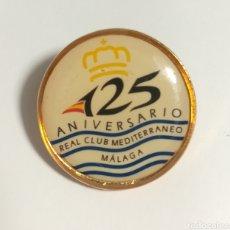 Coleccionismo deportivo: PIN REAL CLUB MEDITERRANEO MALAGA. Lote 152458910
