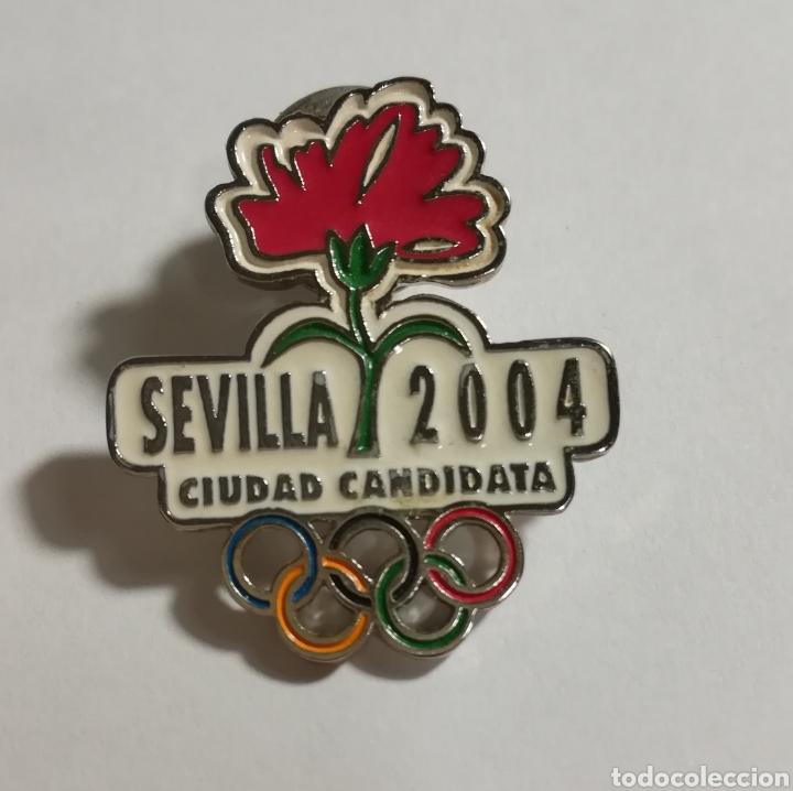 PIN SEVILLA OLIMPICA 2004 (Coleccionismo Deportivo - Pins otros Deportes)