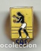 (XJ-190300)INSIGNIA DE SOLAPA ESMALTADA BOXEO - C A C (Coleccionismo Deportivo - Pins otros Deportes)