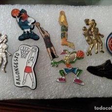 Coleccionismo deportivo: LOTE PINS BALONCESTO. Lote 155567766