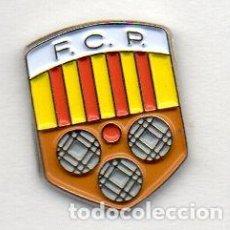 Coleccionismo deportivo: PIN-FEDERACION CATALANA DE PETANCA. Lote 155702598