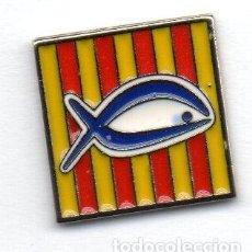Coleccionismo deportivo: PIN-FEDERACIÓN CATALANA DE PESCA DEPORTIVA. Lote 155704810