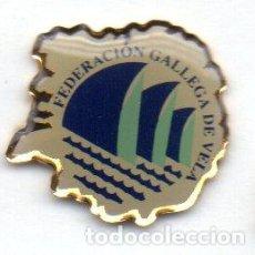 Coleccionismo deportivo: PIN-FEDERACIÓN GALLEGA DE VELA. Lote 155754234