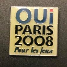 Coleccionismo deportivo: PIN PARIS 2008 CANDIDATURA OLIMPICA OLYMPIC BID PIN. Lote 156323078