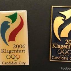 Coleccionismo deportivo: PINS KLAGENFURT 2006 CANDIDATURA OLIMPICA OLYMPIC BID PIN. Lote 156325666