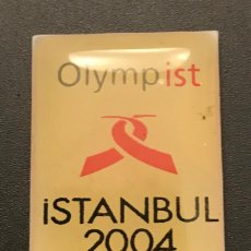 Coleccionismo deportivo: PIN ISTANBUL 2004 CANDIDATURA OLIMPICA OLYMPIC BID PIN. Lote 156326642