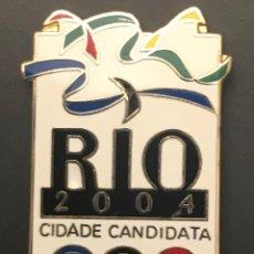 Coleccionismo deportivo: PIN RIO 2004 CANDIDATURA OLIMPICA OLYMPIC BID PIN. Lote 156327562