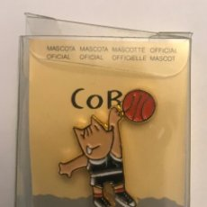 Coleccionismo deportivo: PIN COBI BALONCESTO MASCOTA JUEGOS OLIMPICOS BARCELONA 1992. Lote 156714526