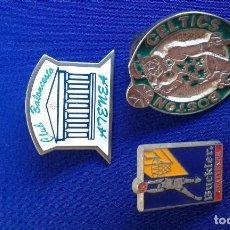 Coleccionismo deportivo: LOTE PINS BALONCESTO. Lote 158234470