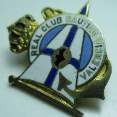 Coleccionismo deportivo: ANTIGUO PIN DE AGUJA, REAL CLUB NÁUTICO VALENCIA. Lote 158986638