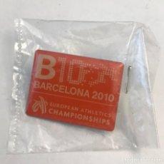 Coleccionismo deportivo: PIN BARCELONA 2010 CAMPEONATO EUROPA ATLETISMO. Lote 206534948