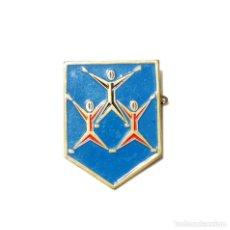 Coleccionismo deportivo: INSIGNIA PRIMER FESTIVAL GIMNASTICO 1964. Lote 168083464
