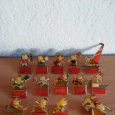 Coleccionismo deportivo: LOTE 14 PINS COBI OLIMPIADAS BARCELONA 92 PUBLICIDAD COCA-COLA - JOCS COKE PIN MASCOTA. Lote 174168162