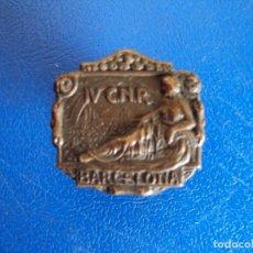 Coleccionismo deportivo: (P-67)INSIGNIA DE SOLAPA CNR BARCELONA. Lote 177028954