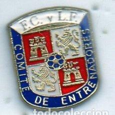 Coleccionismo deportivo: COMITÉ DE ENTRENADORES DE FUTBOL DE CASTILLA Y LEON-VALLADOLID. Lote 180211735