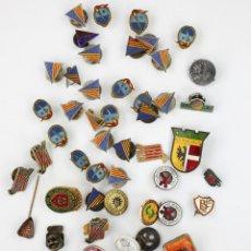 Coleccionismo deportivo: DEPORTE. GRAN LOTE VARIADO DE PINS, 1950-70'S APROX.. Lote 181731852