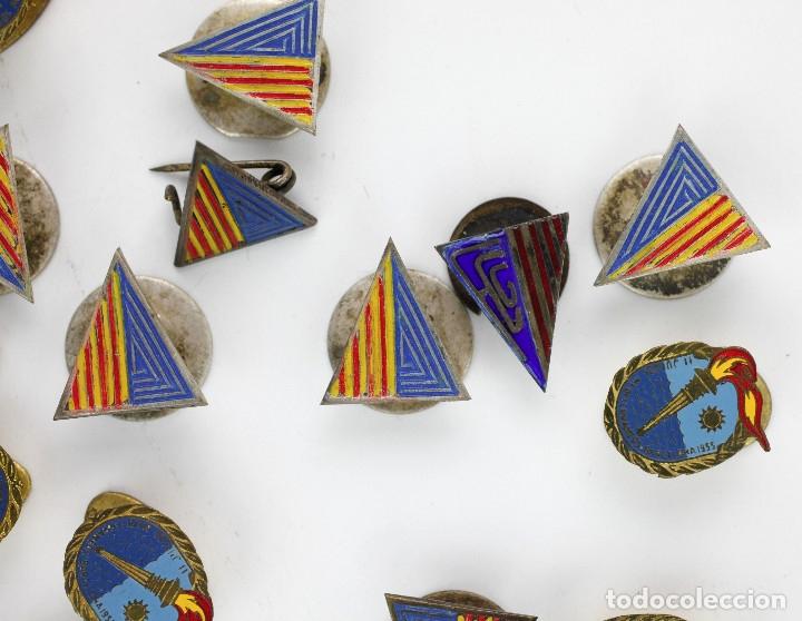 Coleccionismo deportivo: DEPORTE. GRAN LOTE VARIADO DE PINS, 1950-70'S APROX. - Foto 2 - 181731852