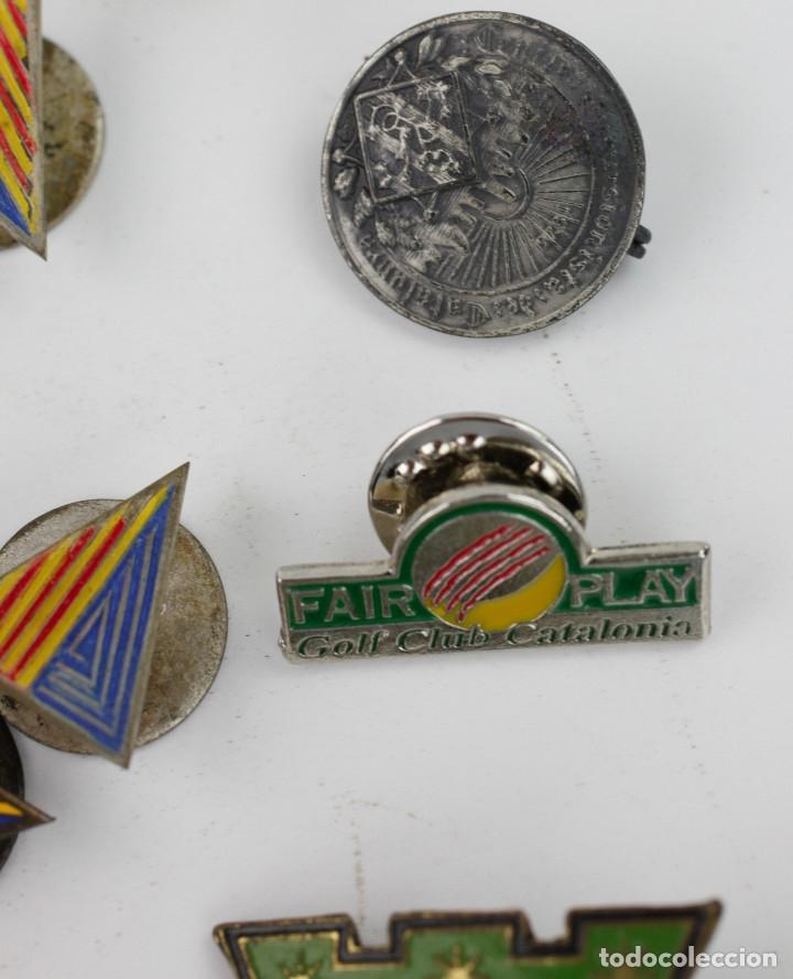Coleccionismo deportivo: DEPORTE. GRAN LOTE VARIADO DE PINS, 1950-70'S APROX. - Foto 5 - 181731852