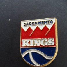 Coleccionismo deportivo: PIN - SACRAMENTO KINGS BASKET BASQUET BALONCESTO -NBA. Lote 182665631