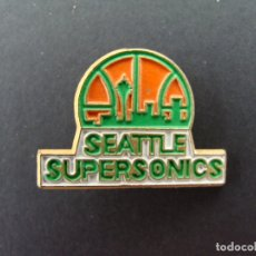 Coleccionismo deportivo: PIN - SEATTLE SUPERSONICS BASKET BASQUET BALONCESTO - NBA. Lote 182666235
