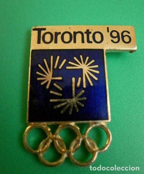 PIN OLIMPIADAS ATLANTA 96 - CANDIDATURA TORONTO 96 - JUEGOS OLIMPICOS 1996 (RARO) (Coleccionismo Deportivo - Pins otros Deportes)