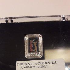 Coleccionismo deportivo: PIN PGA TOUR 2007 (ORIGINAL). Lote 183603376