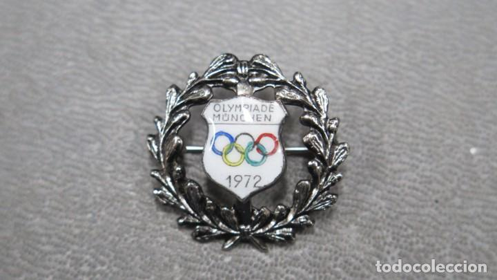PIN O INSIGNIA DE LA OLIMPIADA DE MÜNCHEN. 1972. MUNICH (Coleccionismo Deportivo - Pins otros Deportes)