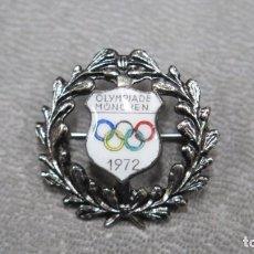Coleccionismo deportivo: PIN O INSIGNIA DE LA OLIMPIADA DE MÜNCHEN. 1972. MUNICH. Lote 188418228