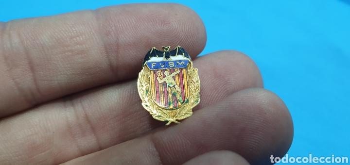 PIN OJAL O SOLAPA FEDERACIÓN VALENCIANA DE BÁDMINTON (Coleccionismo Deportivo - Pins otros Deportes)