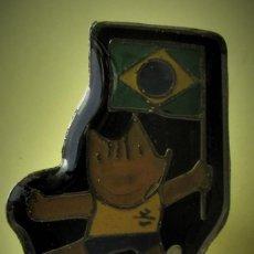 Coleccionismo deportivo: COBI DE BRASIL DE LAS OLIMPIADAS DE BARCELONA 1.992 ORIGINAL. Lote 191663248