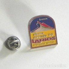 Coleccionismo deportivo: PIN SIERRA NEVADA 96 CAMPEONATO MUNDIAL DE ESQUÍ 1996 - DEPORTE - PUBLICIDAD LARIOS - GRANADA ESPAÑA. Lote 193295610
