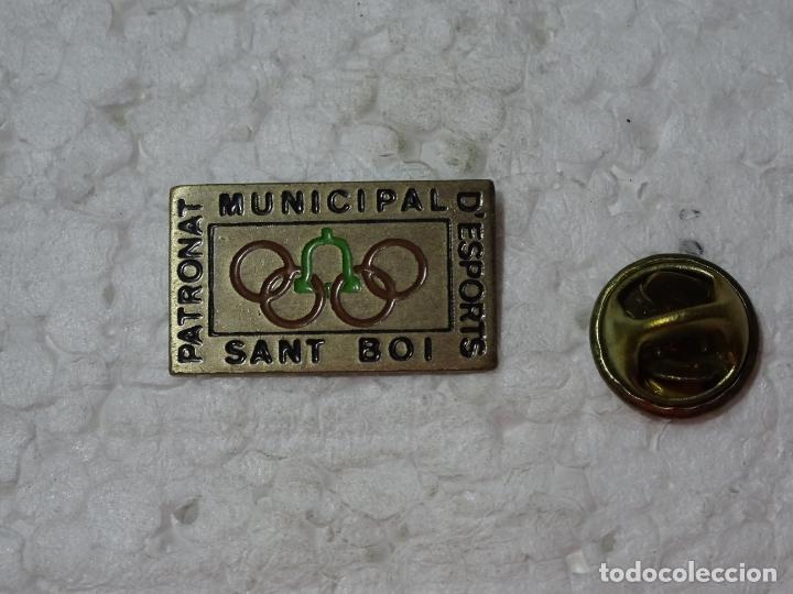 PIN DE DEPORTES. JUEGOS OLÍMPICOS OLIMPIADAS BARCELONA 92 1992. PATRONATO SANT BOI (Coleccionismo Deportivo - Pins otros Deportes)