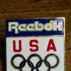 Coleccionismo deportivo: PIN REEBOK USA AÑO 1992 OLIMPIADAS BARCELONA. Lote 194157592