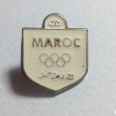 Coleccionismo deportivo: CURIOSO PIN MAROC. OLIMPIADAS. Lote 194542442
