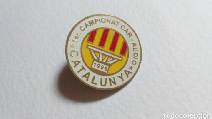 PIN 1° CAMPIONAT- AUDIO. CATALUNYA 1996 (Coleccionismo Deportivo - Pins otros Deportes)
