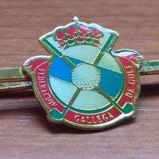 Coleccionismo deportivo: ALFILER DE CORBATA TIPO PIN ASOCIACION GALLEGA DE GOLF. Lote 194704298