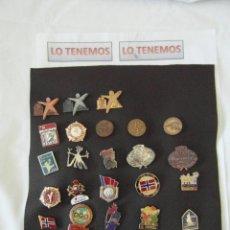Coleccionismo deportivo: COLECCION DE 28 PINS OLIMPIADAS JUEGOS DE INVIERNO . Lote 195255341