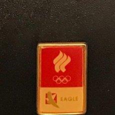 Coleccionismo deportivo: PIN COMITE OLIMPICO DE RUSIA - EAGLE. Lote 195301195