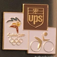 Coleccionismo deportivo: PIN CICLISMO JUEGOS OLIMPICOS SYDNEY 2000 - UPS. Lote 195302942