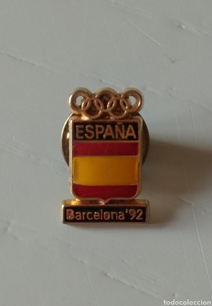 ORIGINAL PIN. BARCELONA 92. OLIMPIADAS DE ESPAÑA (Coleccionismo Deportivo - Pins otros Deportes)