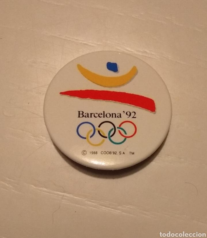 PIN CHAPA DE AGUJA OLIMPIADAS BARCELONA 92 (Coleccionismo Deportivo - Pins otros Deportes)