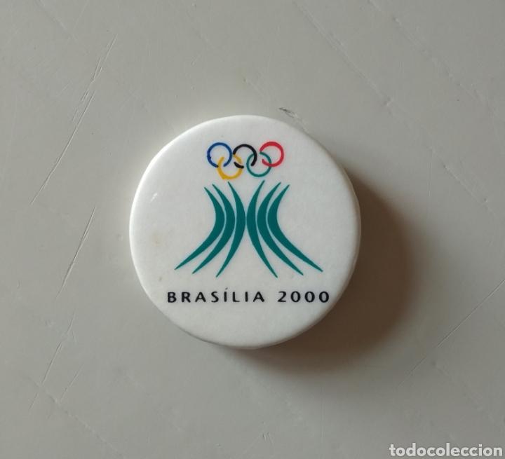 CHAPA PIN BRASILIA 2000 (Coleccionismo Deportivo - Pins otros Deportes)
