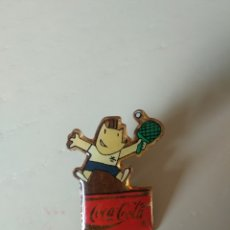 Coleccionismo deportivo: PIN COBI PING PONG COCA-COLA BARCELONA 92. Lote 196951631